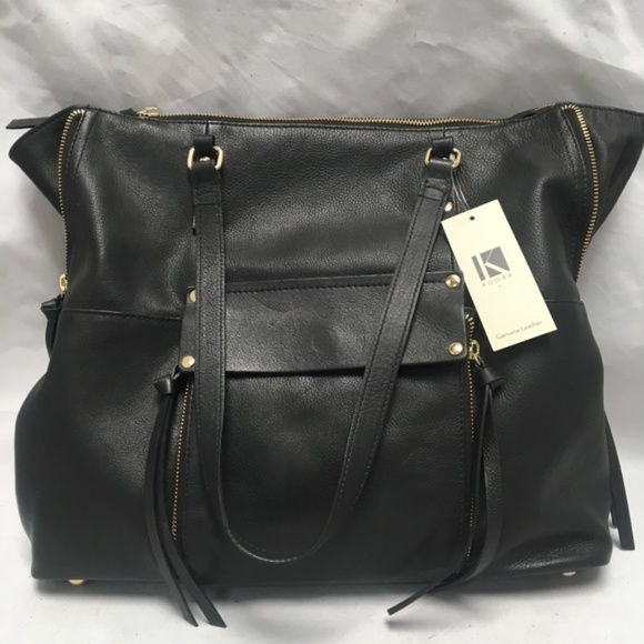 1bf9e790499f Kooba Everette GK1206/19 Leather Tote Handbag